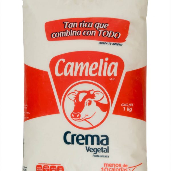CREMA VEGETAL 1 KG CAMELIA