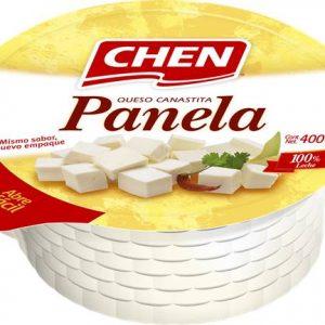 QUESO PANELA CANASTITA 400 G CHEN