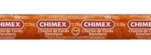 CHORIZO CERDO RANCHERO PACIFICO 200 G CHX