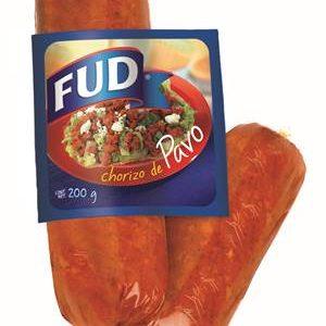 CHORIZO PAVO 200 G FUD