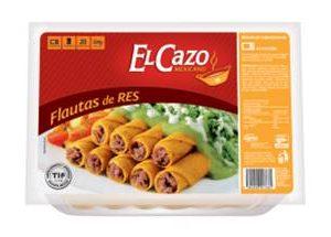 FLAUTAS EL CAZO MEXICANO (20 PZ) RES