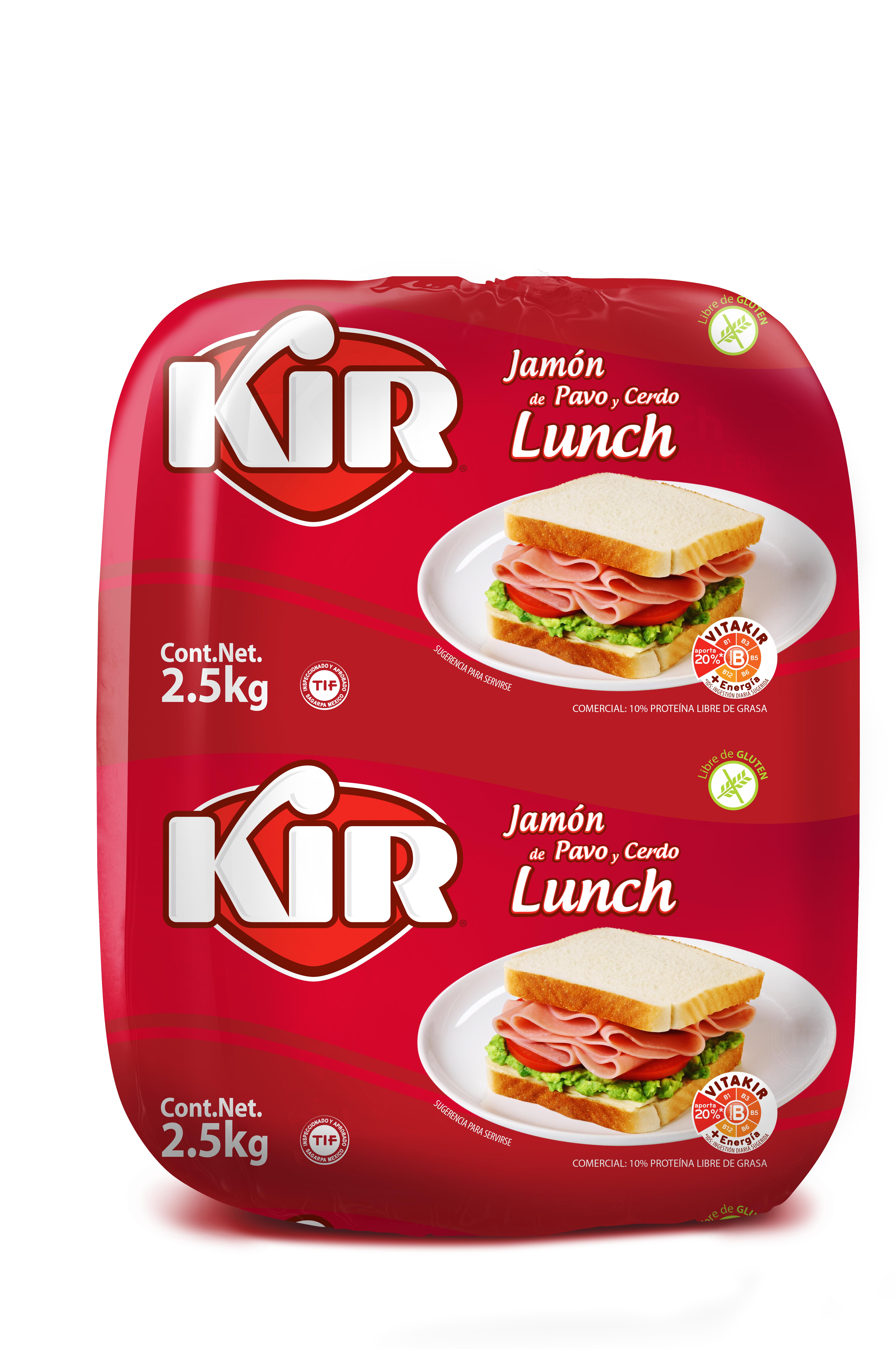 X576-Jamon Lunch Pavo y cerdo-Kir